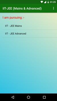 IIT-JEE (Mains & Advanced) screenshot 1