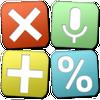 Multi-scherm rekenmachine met spraakinvoer Pro-icoon