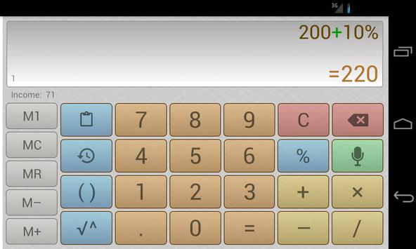 Multi-Screen Voice Calculator Pro screenshot 6