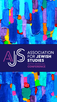Association for Jewish Studies poster