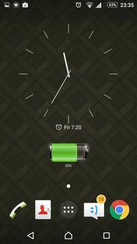 Modern Clock Widget screenshot 5