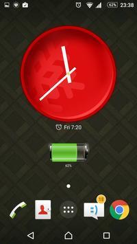 Modern Clock Widget screenshot 6
