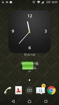 Modern Clock Widget apk screenshot