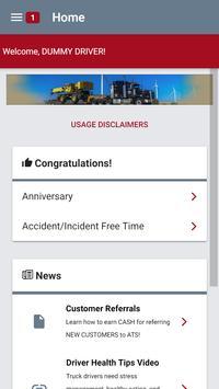ATS Driver captura de pantalla 1