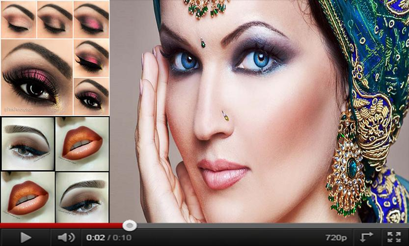 Bridal Makeup Eyes Lips Beauty Makeup Tutorial For Android Apk