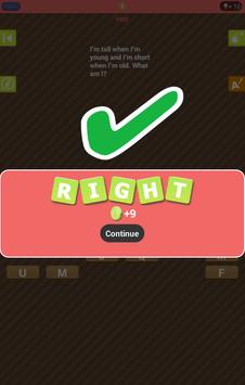 Answer the Riddle apk screenshot