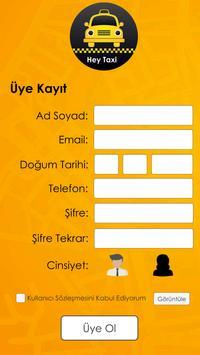 HeyTaxiCyprus apk screenshot