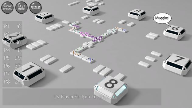 3D Dominoes poster