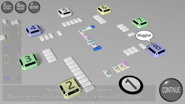 3D Dominoes screenshot 1