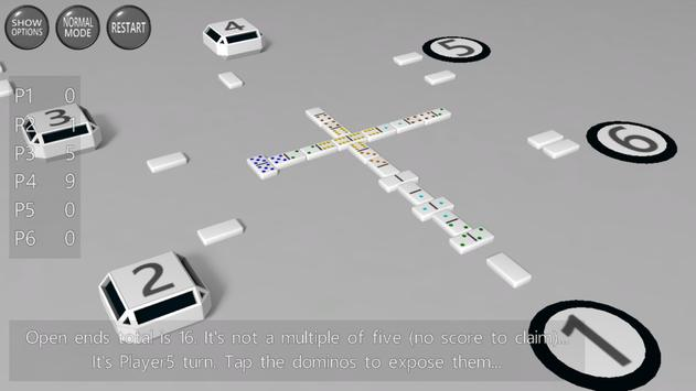 3D Dominoes screenshot 2