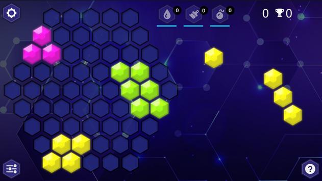 HexaBlocks captura de pantalla 1