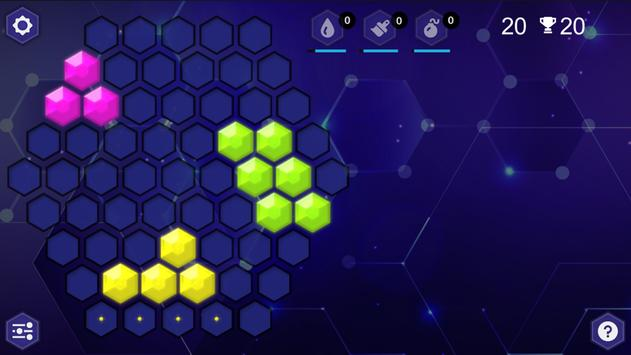 HexaBlocks captura de pantalla 2