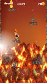 Volcano Endless apk screenshot