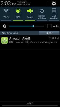 Atwatch Website Monitoring APP screenshot 3
