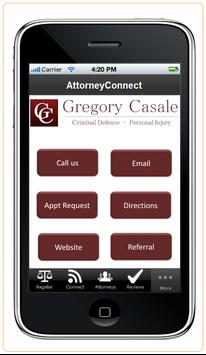 Attorney Gregory Casale poster
