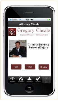 Attorney Gregory Casale apk screenshot
