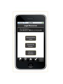 Attorney James Milligan screenshot 1