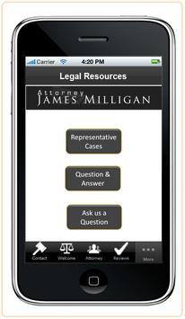 Attorney James Milligan screenshot 7