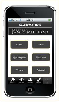 Attorney James Milligan screenshot 4