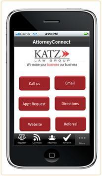 Katz Law Group poster