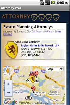 Attorney Proz - Lawyer Search poster