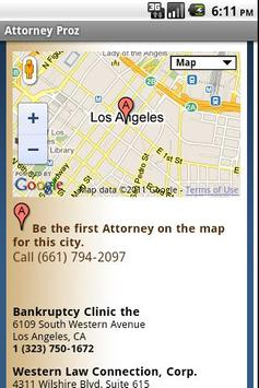 Attorney Proz - Lawyer Search apk screenshot