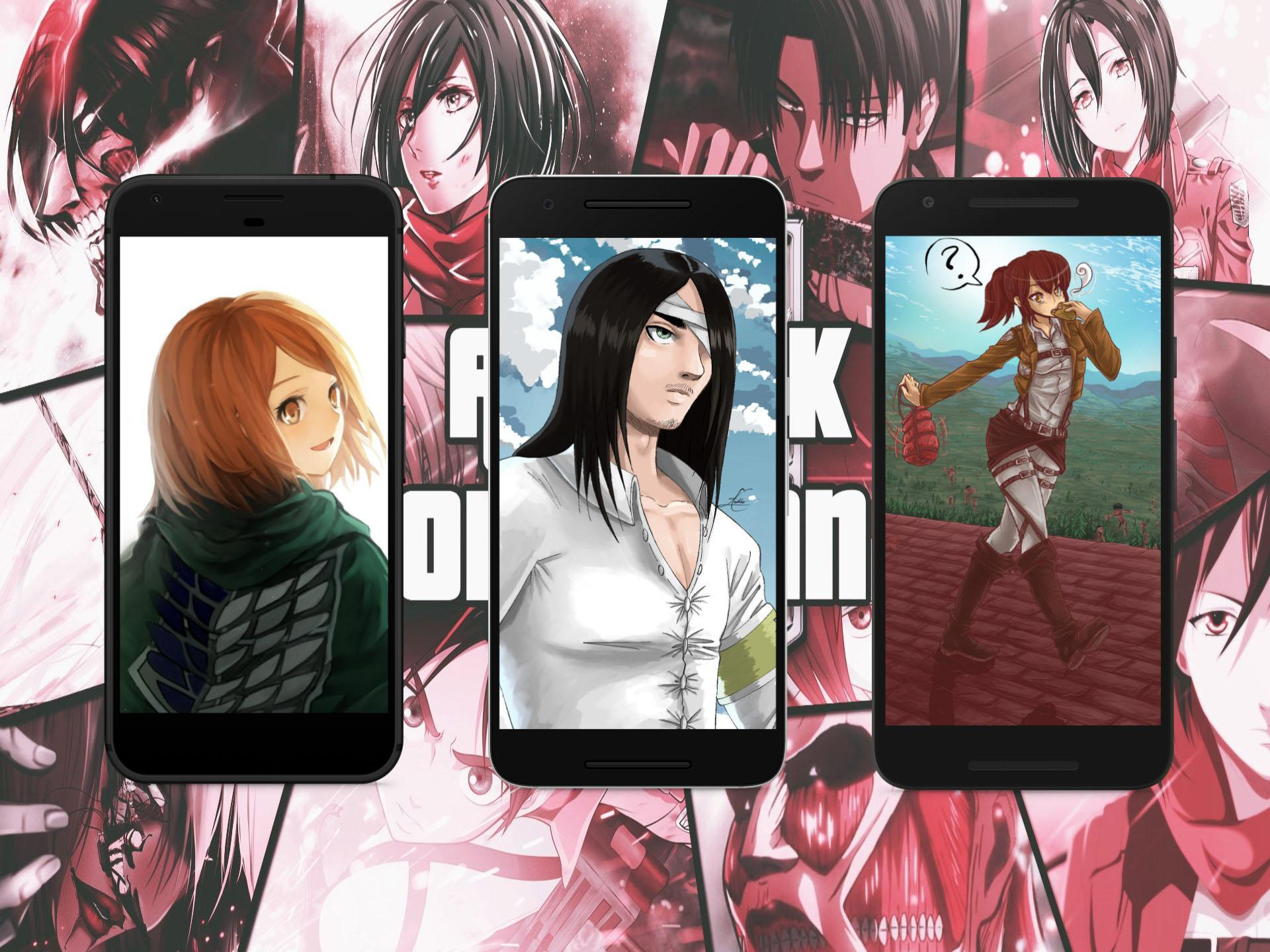 Attack Titan Hd Wallpaper For Android Apk Download