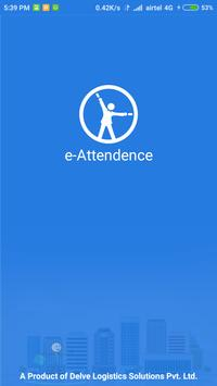 e-Attendance poster