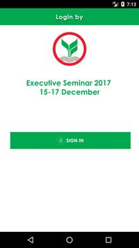 KEvent Executive Seminar 2017 poster