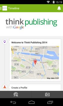 Think Publishing 2014 poster