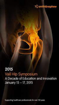 2015 Vail Hip Symposium poster