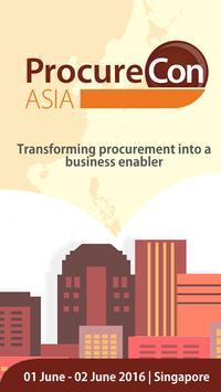 ProcureCon Asia 2016 poster