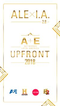 A+E Up Front 2018 poster