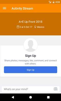 A+E Up Front 2018 apk screenshot