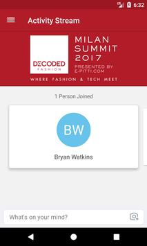 Decoded Fashion Milan 2017 apk screenshot