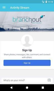 Branchout screenshot 1