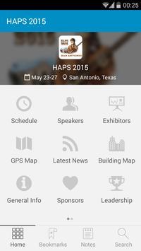 HAPS 2015 apk screenshot
