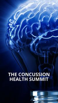 The Concussion Health Summit poster