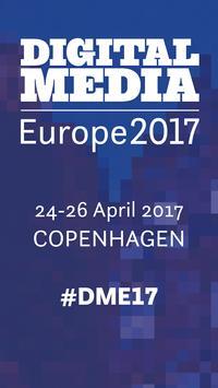 Digital Media Europe 2017 poster