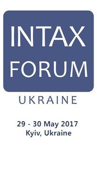 INTAX FORUM UKRAINE 2017 poster