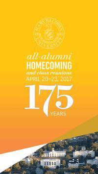 Mary Baldwin Alumni Homecoming poster