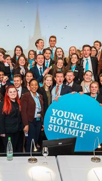 The 8th Young Hoteliers Summit poster