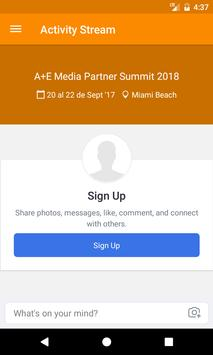 A+E Media Partner Summit 2018 apk screenshot