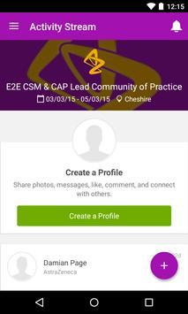 E2E CSM & CAP Leads F2F Event poster