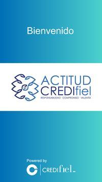 Actitud Credifiel poster