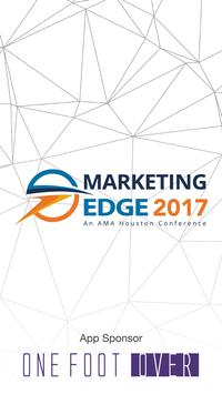 Marketing Edge 2017 poster