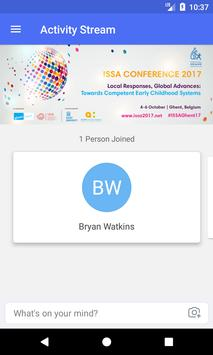 ISSA Conference 2017 App screenshot 1