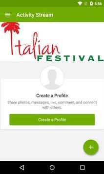 CV Italian Festival poster