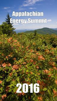 2016 Appalachian Energy Summit poster