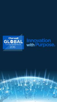 Cherwell Global Conference '16 poster